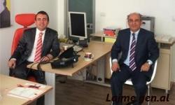 Ambassador of Turkey in Tirana visited Anegino Office
